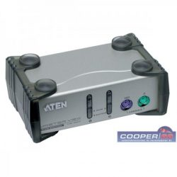 ATEN XCS82A 2 port + kábelkészlet PS2 KVM switch